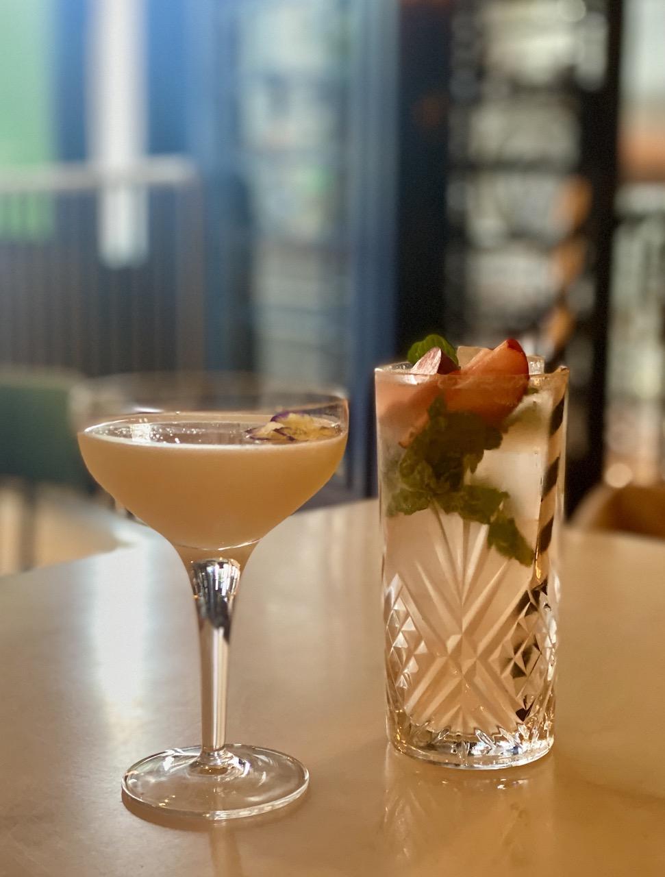 Flora Indica cocktails