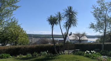 Garden at St Enodoc Hotel