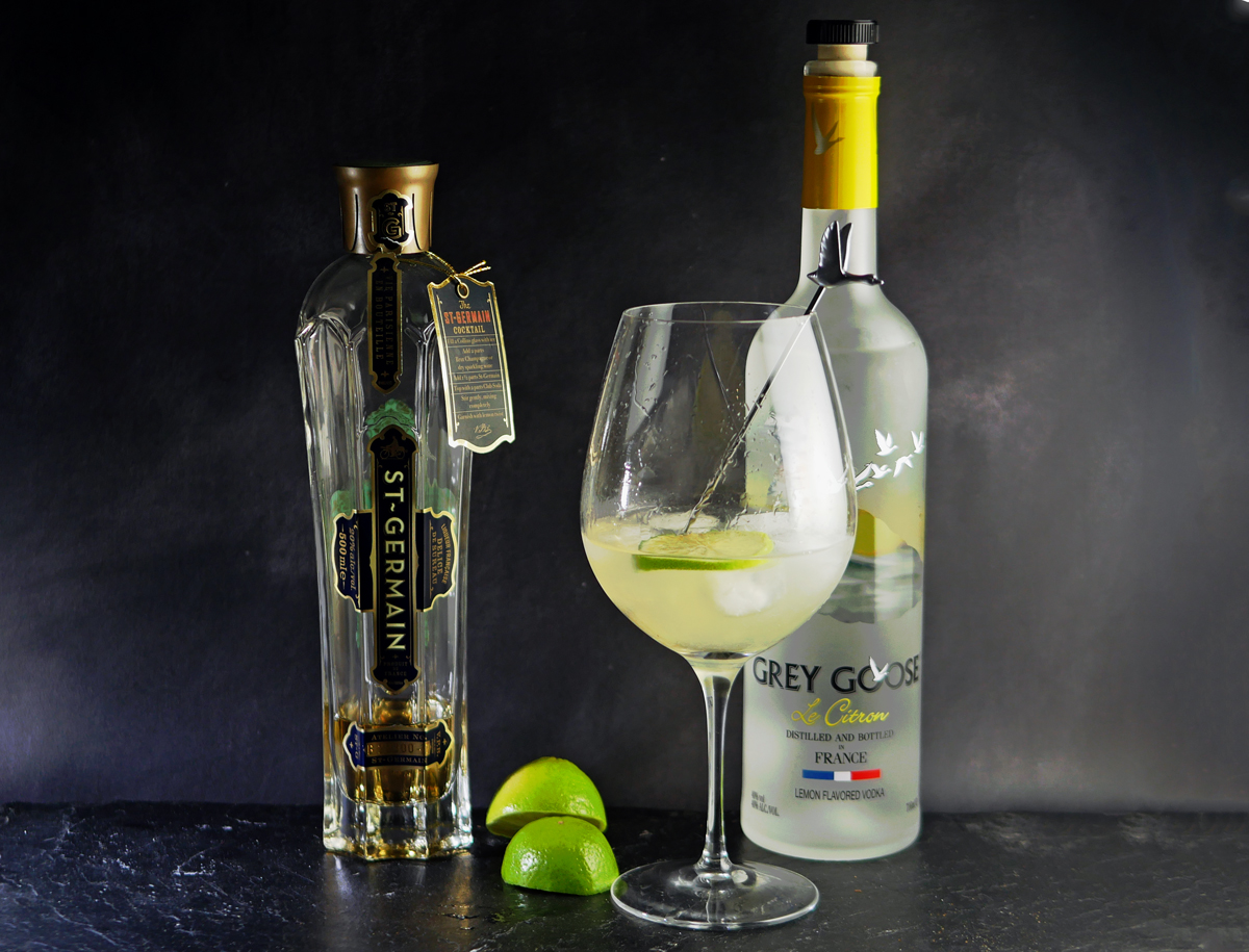 Grey Goose Vodka le grand fizz