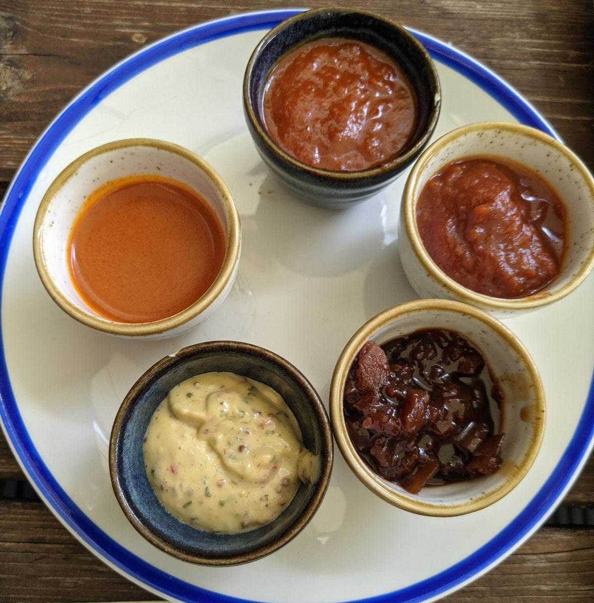 Park Tavern braai sauces
