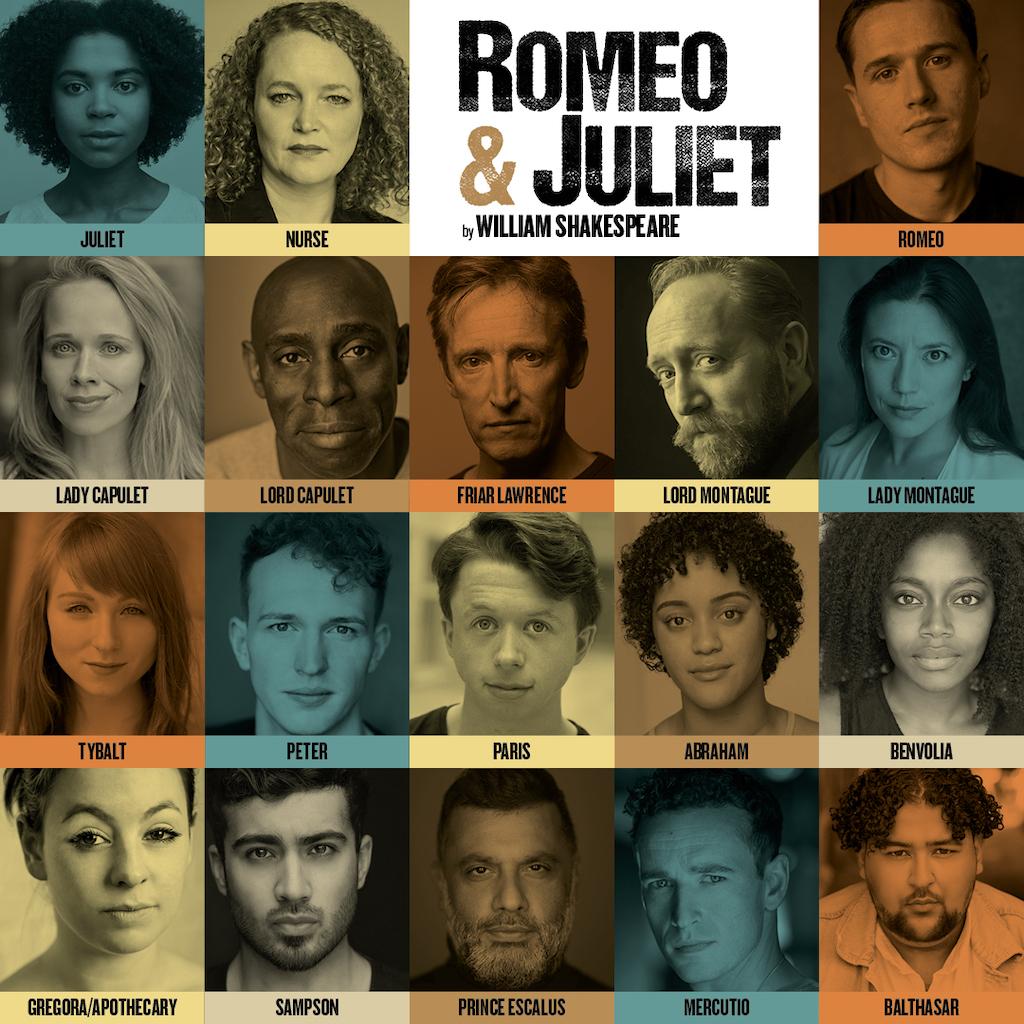 Romeo and Juliet Full Cast Regent's Park.