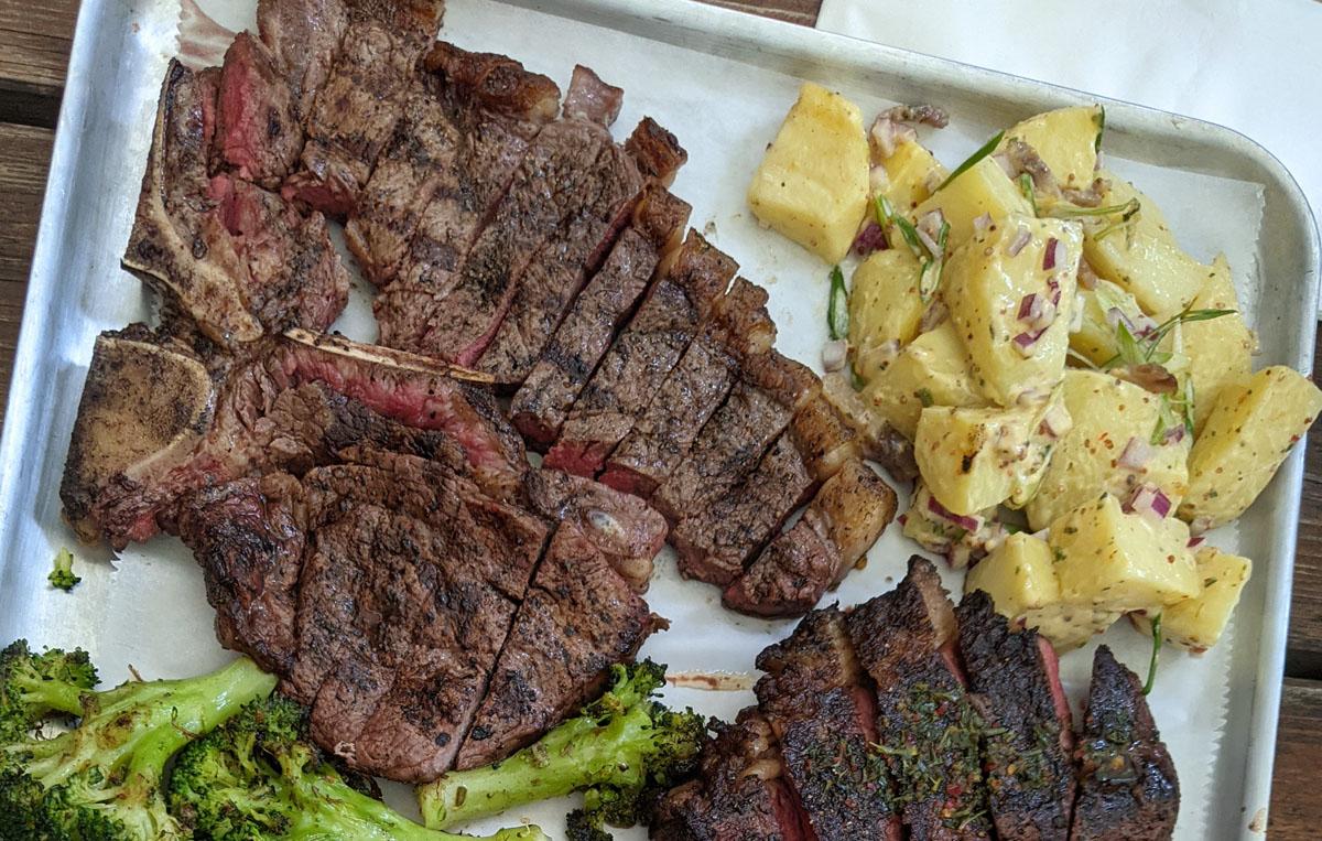 Tbone Flat Iron and Salad Park Tavern