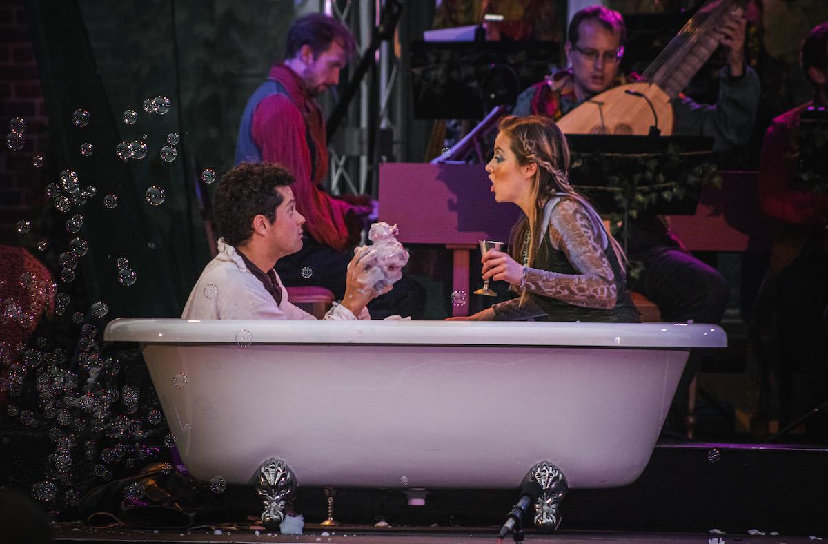 Vache Baroque Festival Acis and Galatea bathtub scene