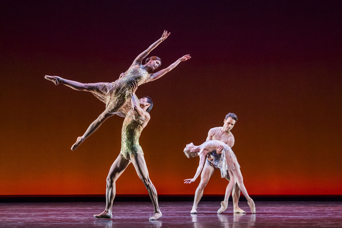 Artists of The Royal Ballet in Within the Golden Hour, The Royal Ballet © 2019 ROH. Photograph by Tristram Kenton