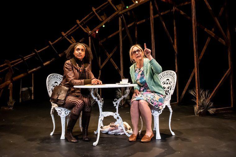 Bonnie_Baddoo_Kerrie_Taylor_Bad_Nights_and_Odd_Days_Greenwich_Theatre_credit_Lidia_Crisafulli
