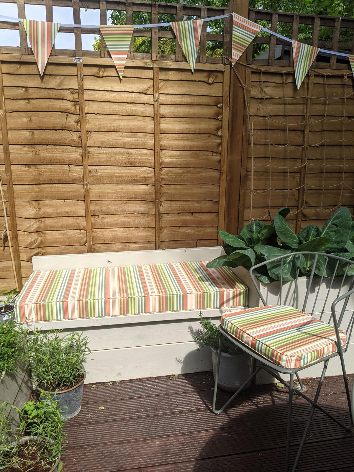 Brightening up my garden