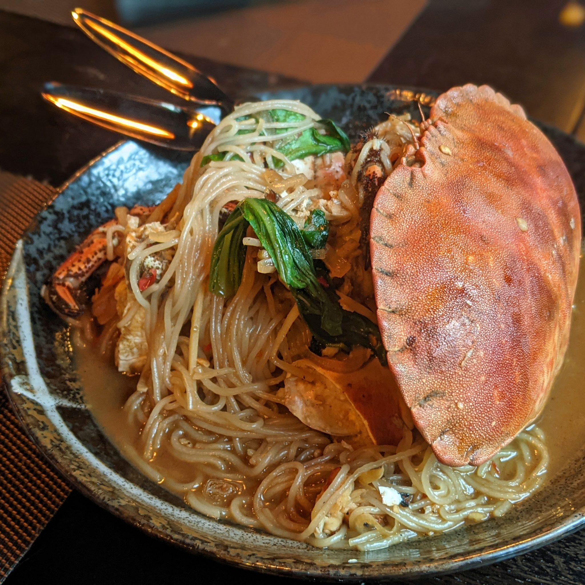 Crab at Sticky MangoBee Hoon