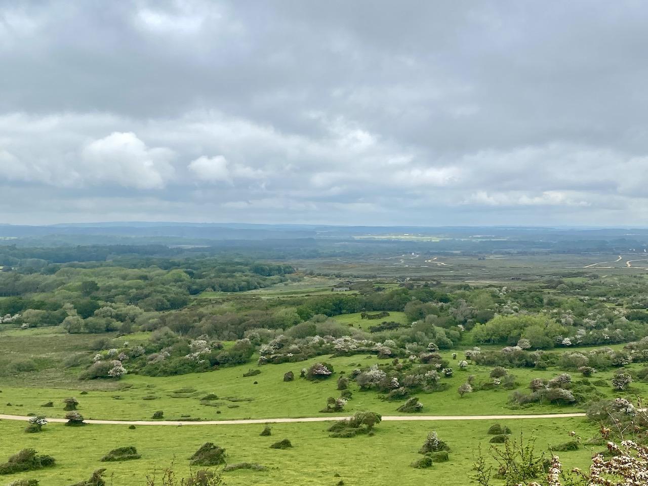Road Trip to the Jurassic Coast - Dorset landscape