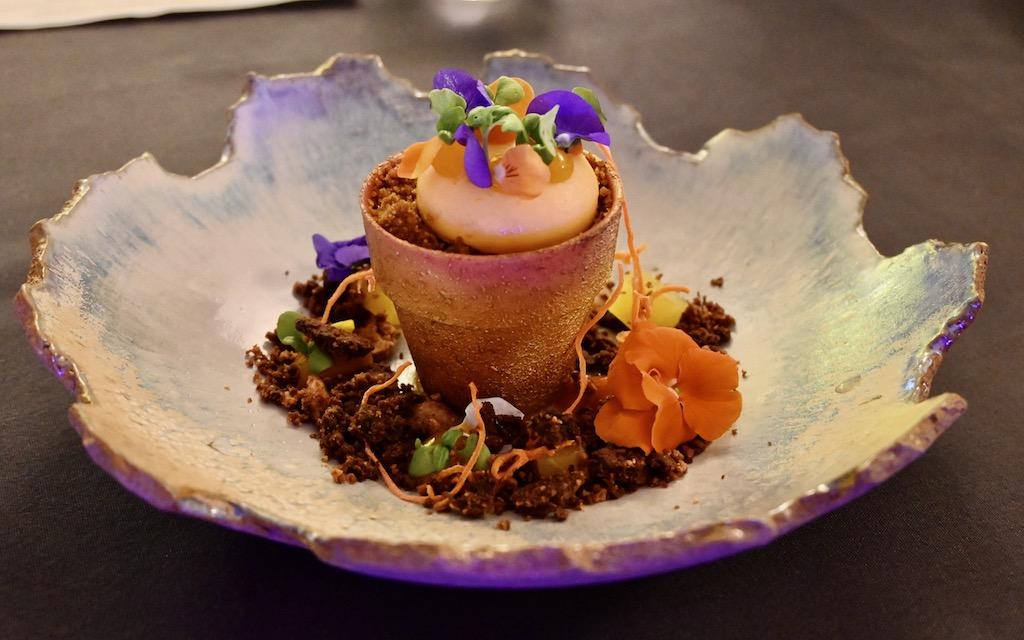 Edible Flowerpot
