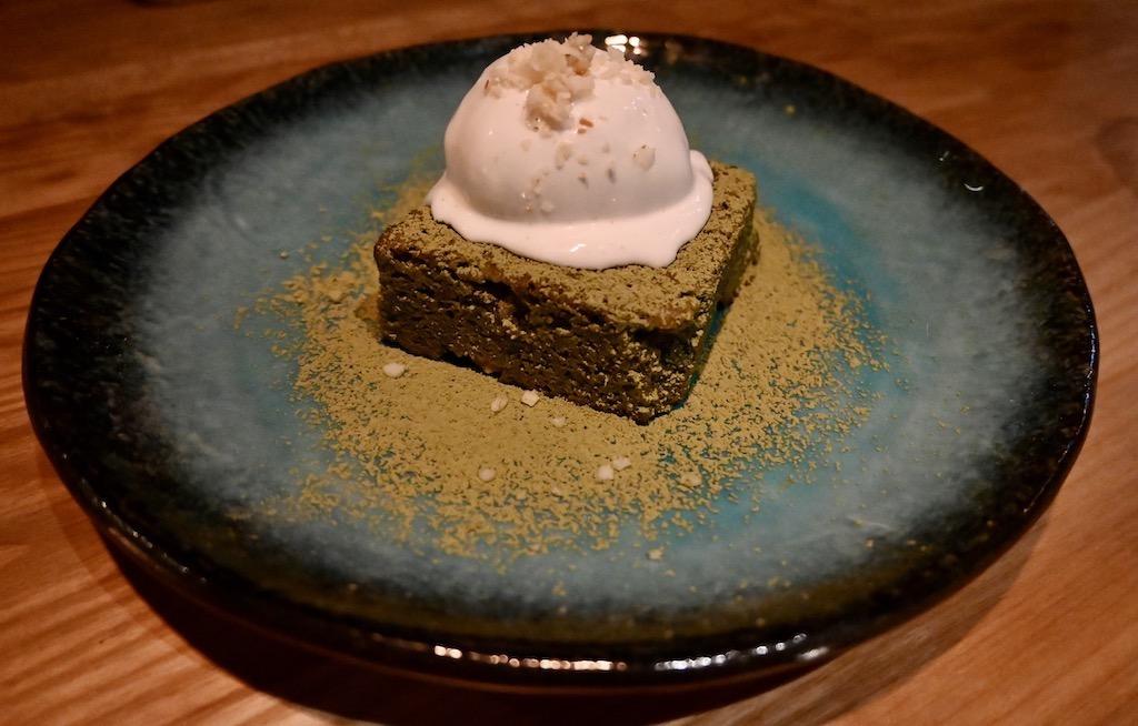 Los Mochis matcha dessert