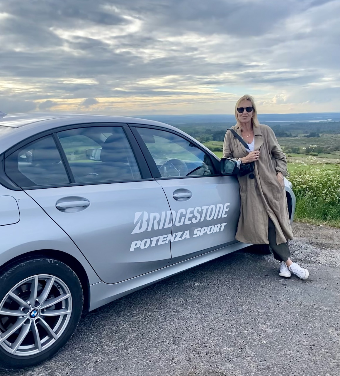 Dorset Jurrasic Coast Road Trip - Lucy on the road with Bridgestone Potenza