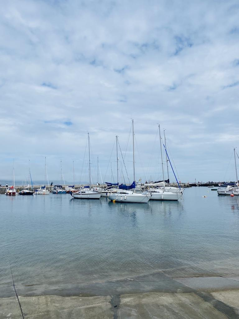 Lyme Regis boats