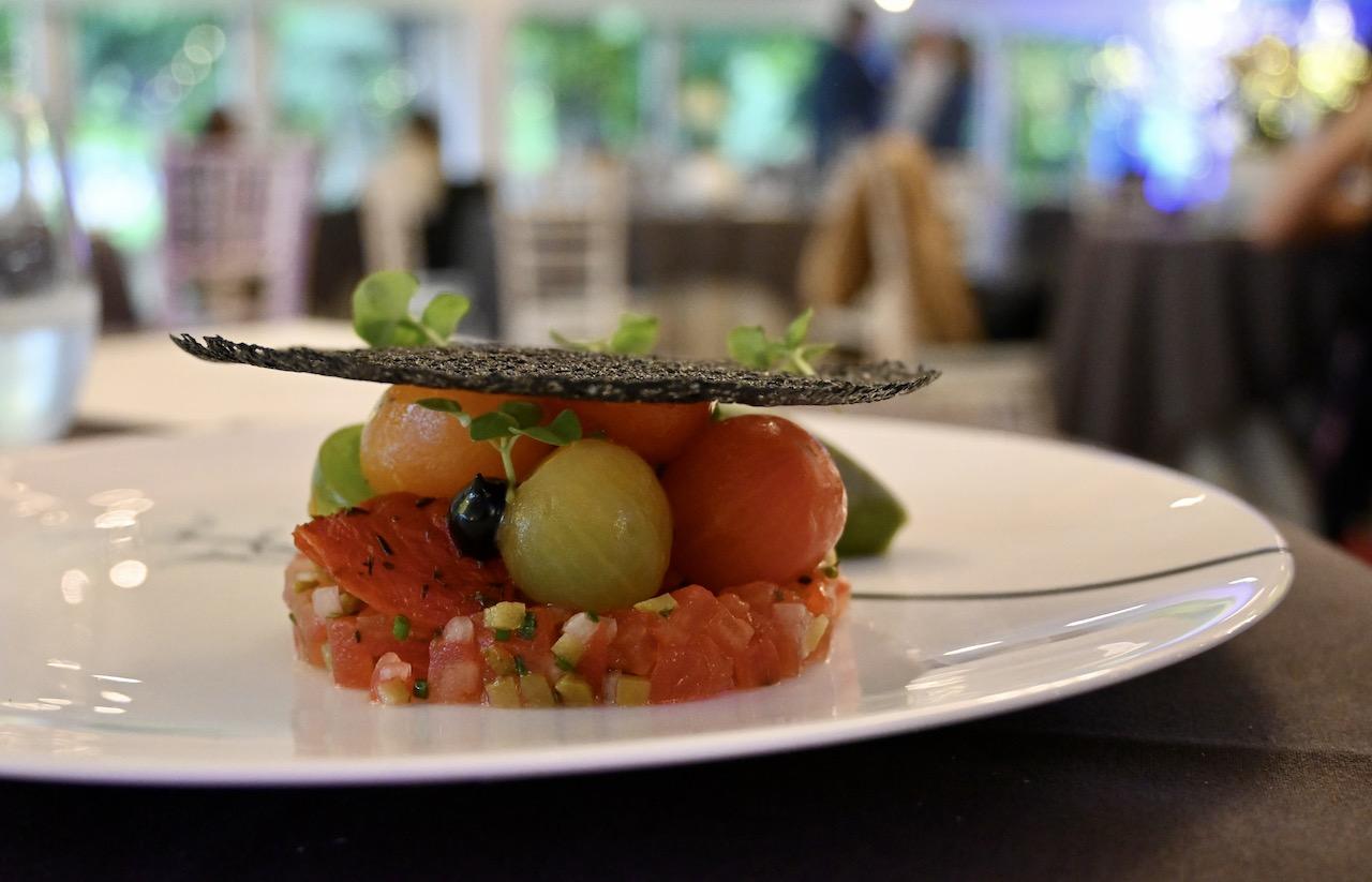 Nutbourne heritage tomato & creamy burrata,