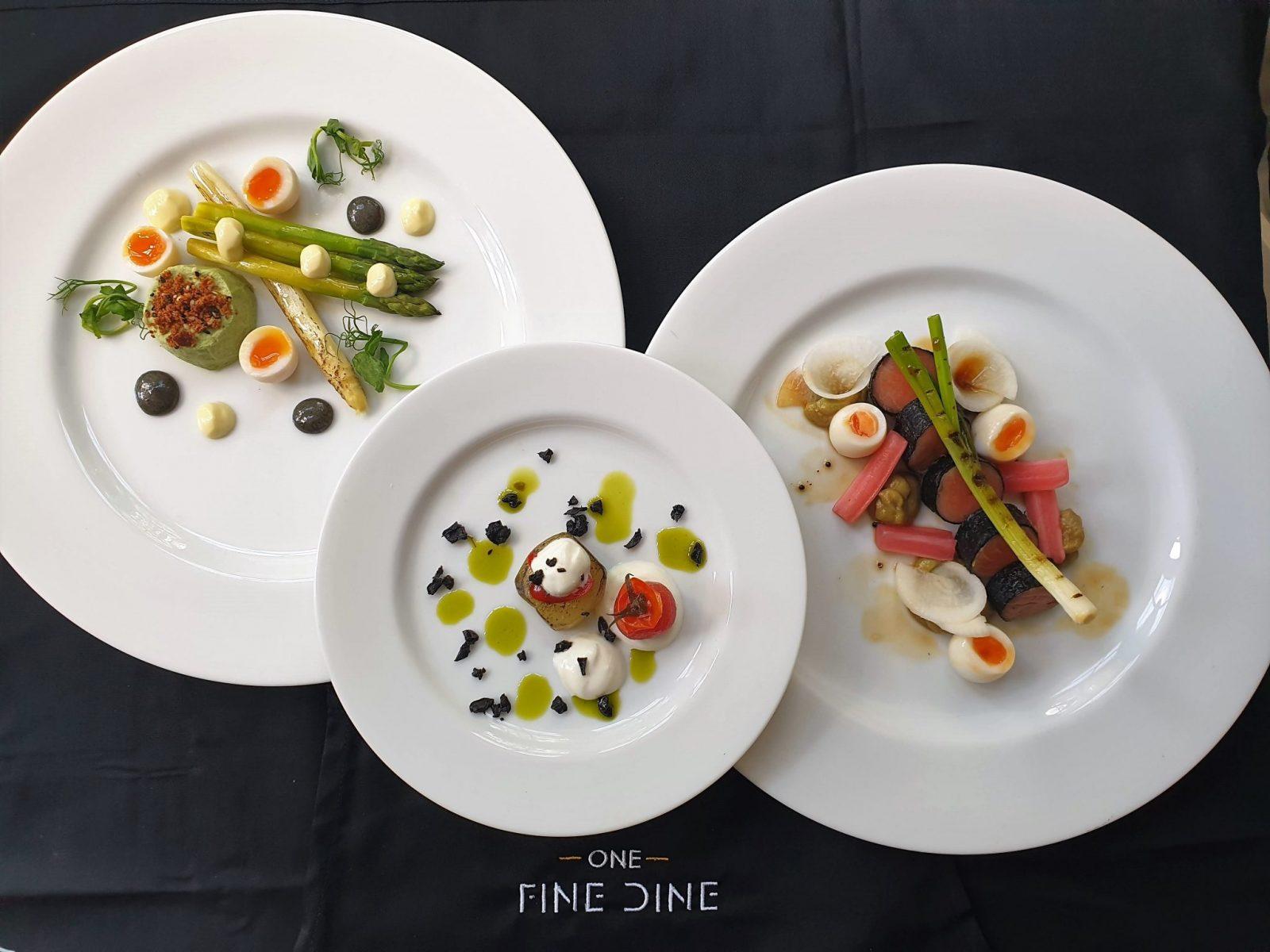 One Fine DIne starters