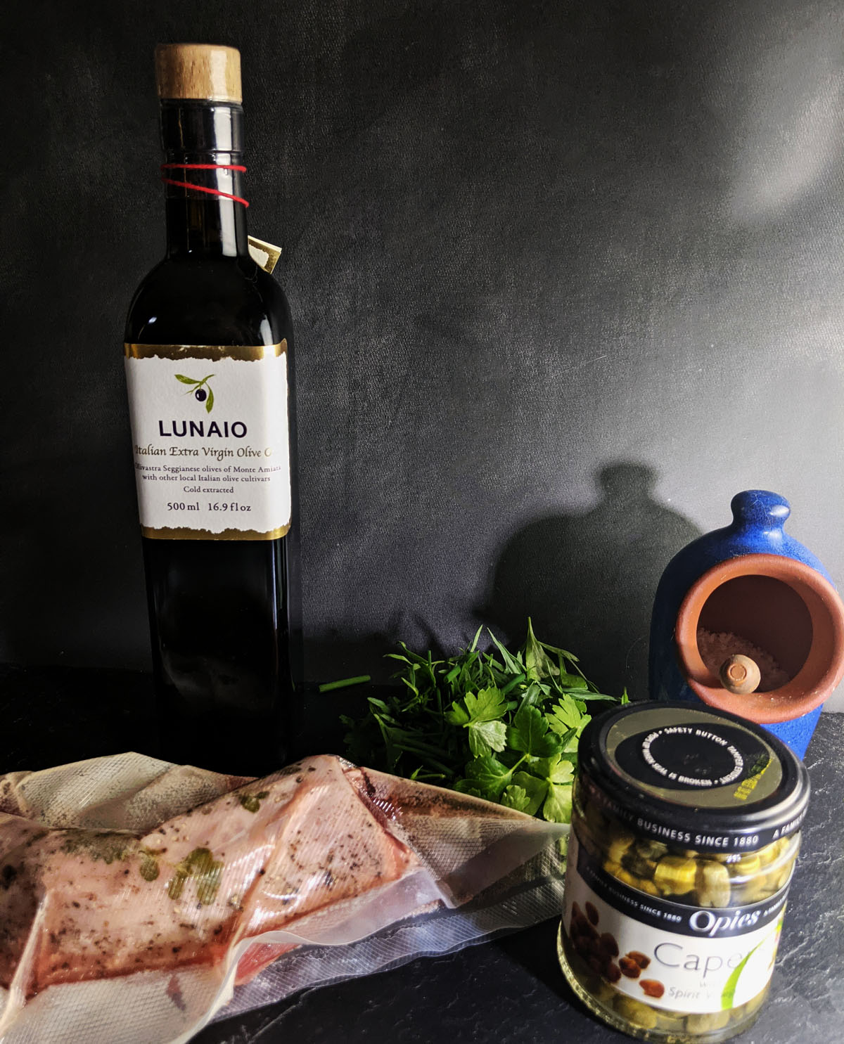 Pork Sauce Verte Ingredients
