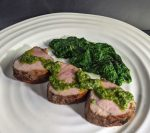 Pork Tenderloin with Sauce Verte
