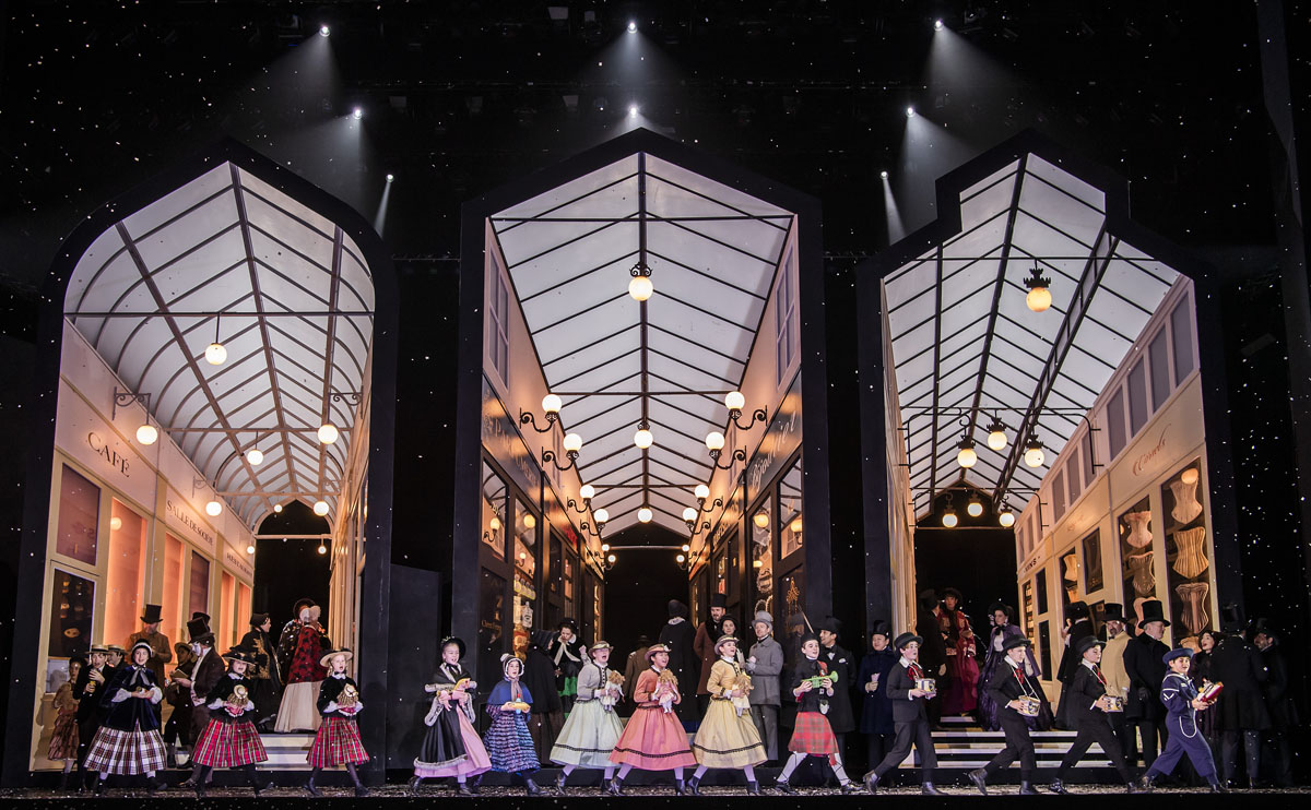 A scene from La Boheme by Puccini @ Royal Opera House. Directed by Richard Jones. Conductor, Emmanuel Villaume. (Opening 10-01-20) ©Tristram Kenton 01/20 (3 Raveley Street, LONDON NW5 2HX TEL 0207 267 5550 Mob 07973 617 355)email: tristram@tristramkenton.com