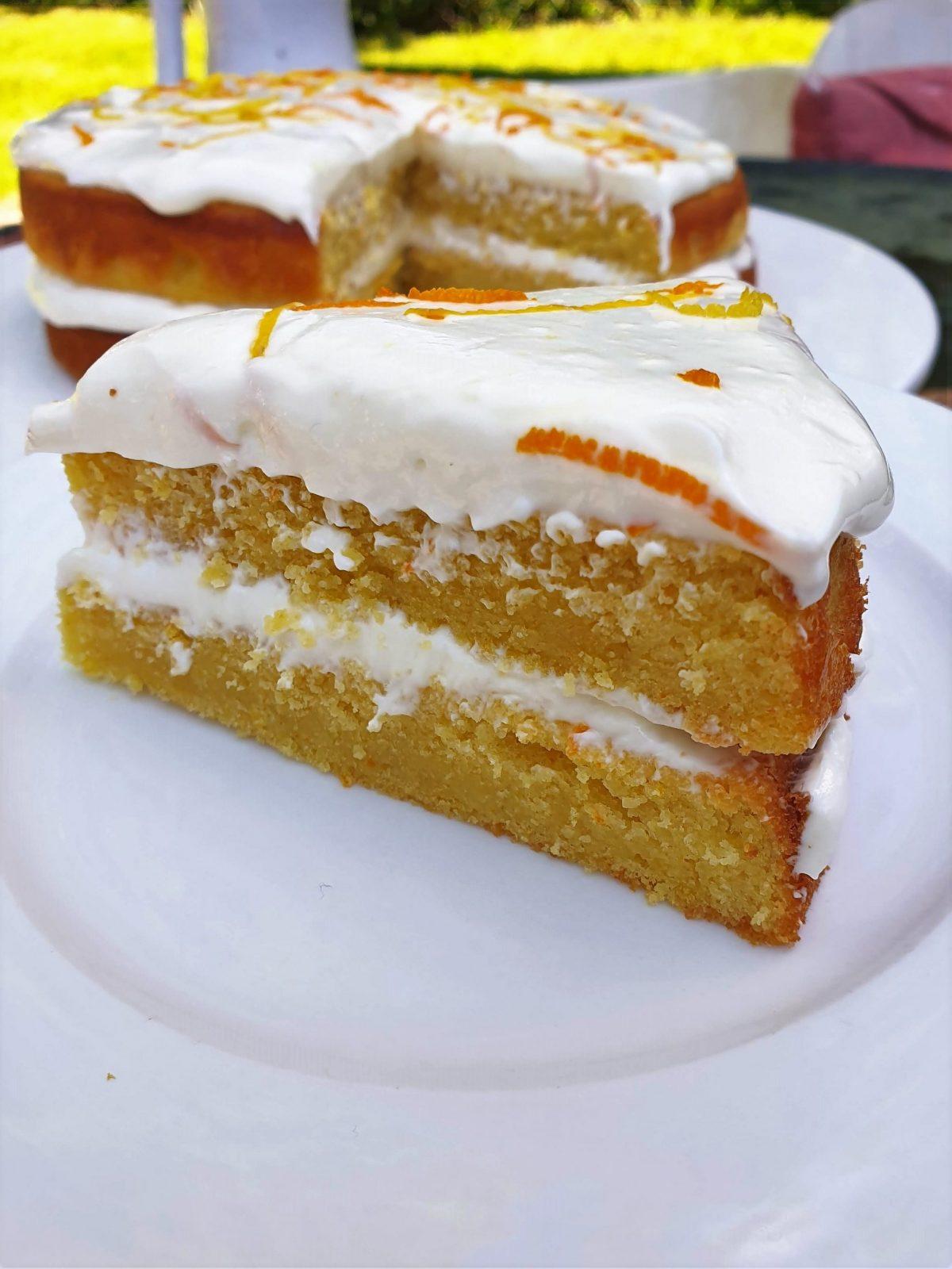 Ripe Figs citrus cake