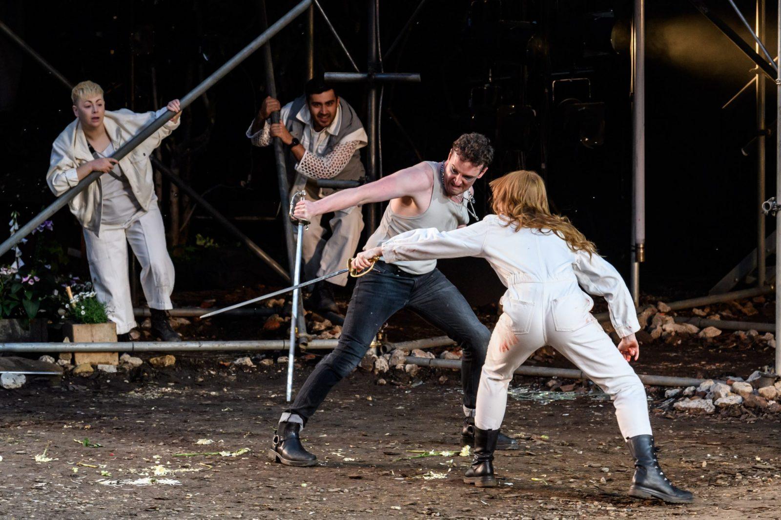 ROMEO & JULIET, Regent's Park Open Air Theatre, London, Britain - 22nd June 2021