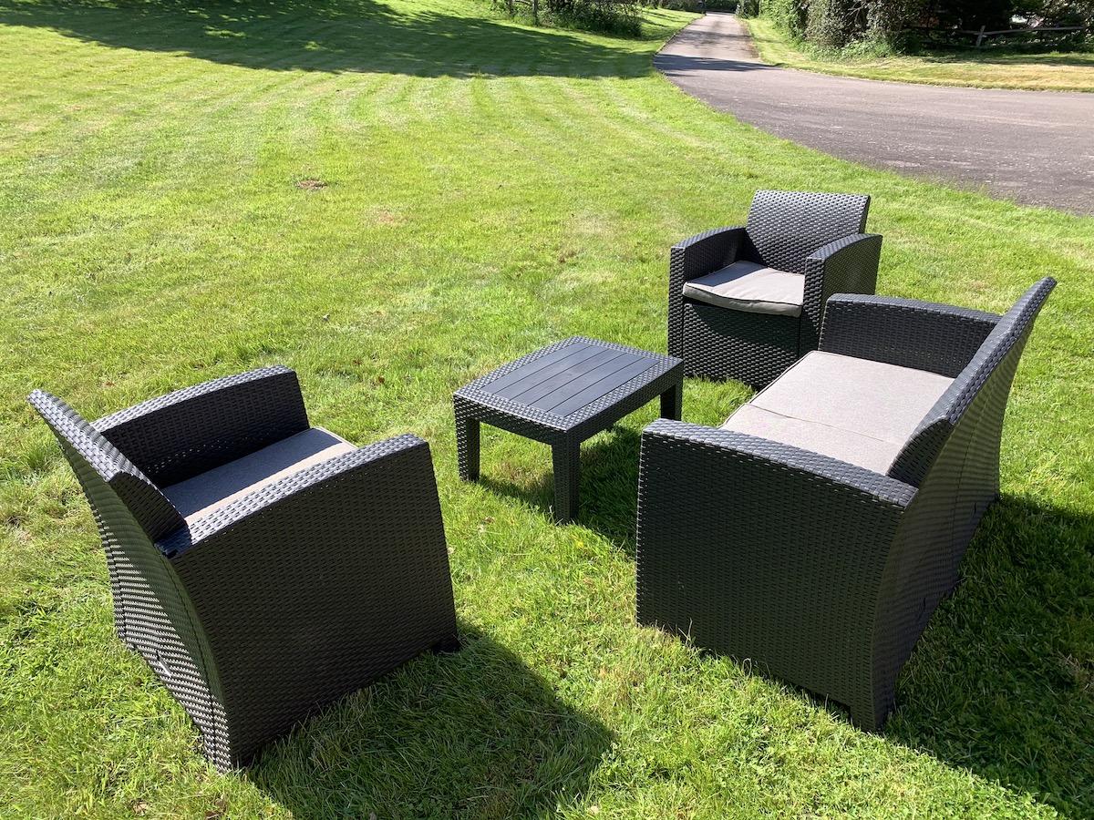 Sefton Meadows ' Florence Outdoor Garden Lounge Set 2