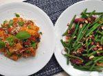 Sicilia pasta and green beans-min