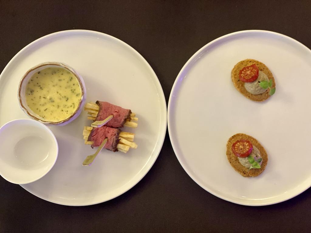 Steak Fritte & Parmesan crisp