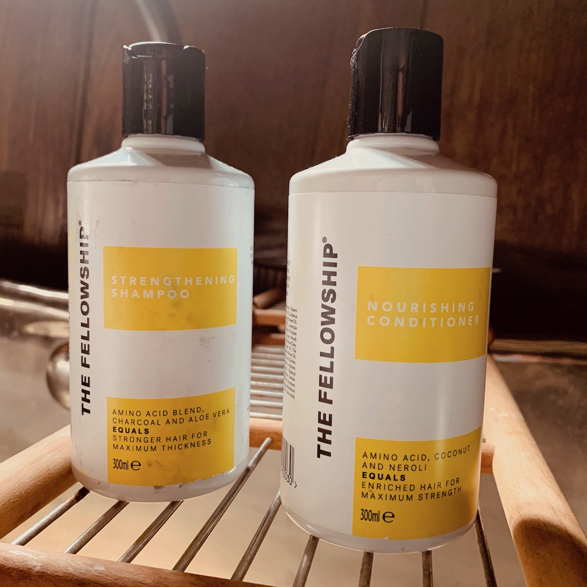 The Fellowship shampoo and conditioner