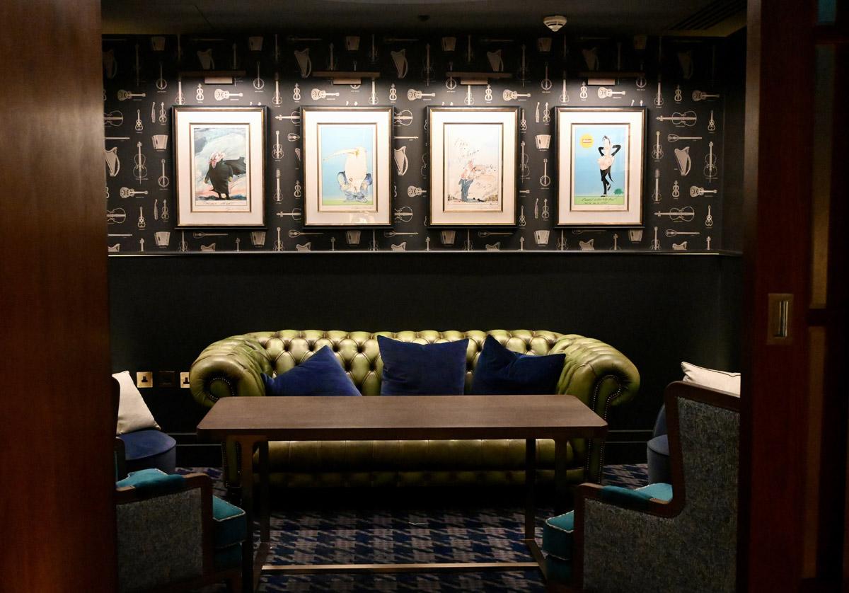 Blue Boar Quirky Interior
