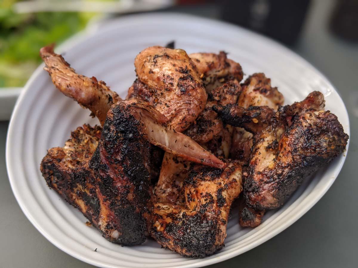 Piri Piri Chicken Wings - Field&Flower Simple BBQ Ideas