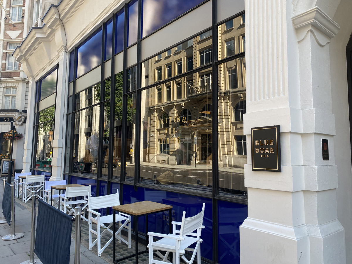 Exterior - The Blue Boar