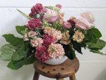 Blooming Haus Flower Arranging Class My finishd arrangement at Blooming Haus