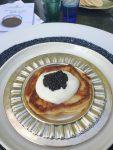 Petrossian caviar on blini