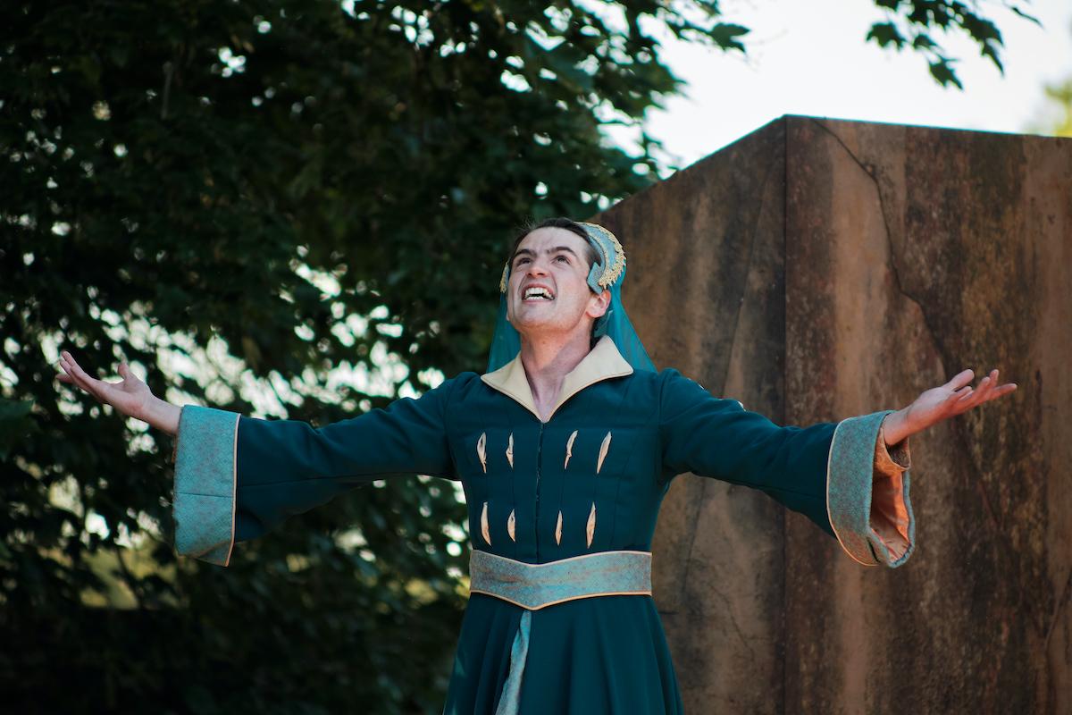 Rhys Warrington - Lady Macbeth. TLCM Macbeth 2021. Photographer Jack Offord