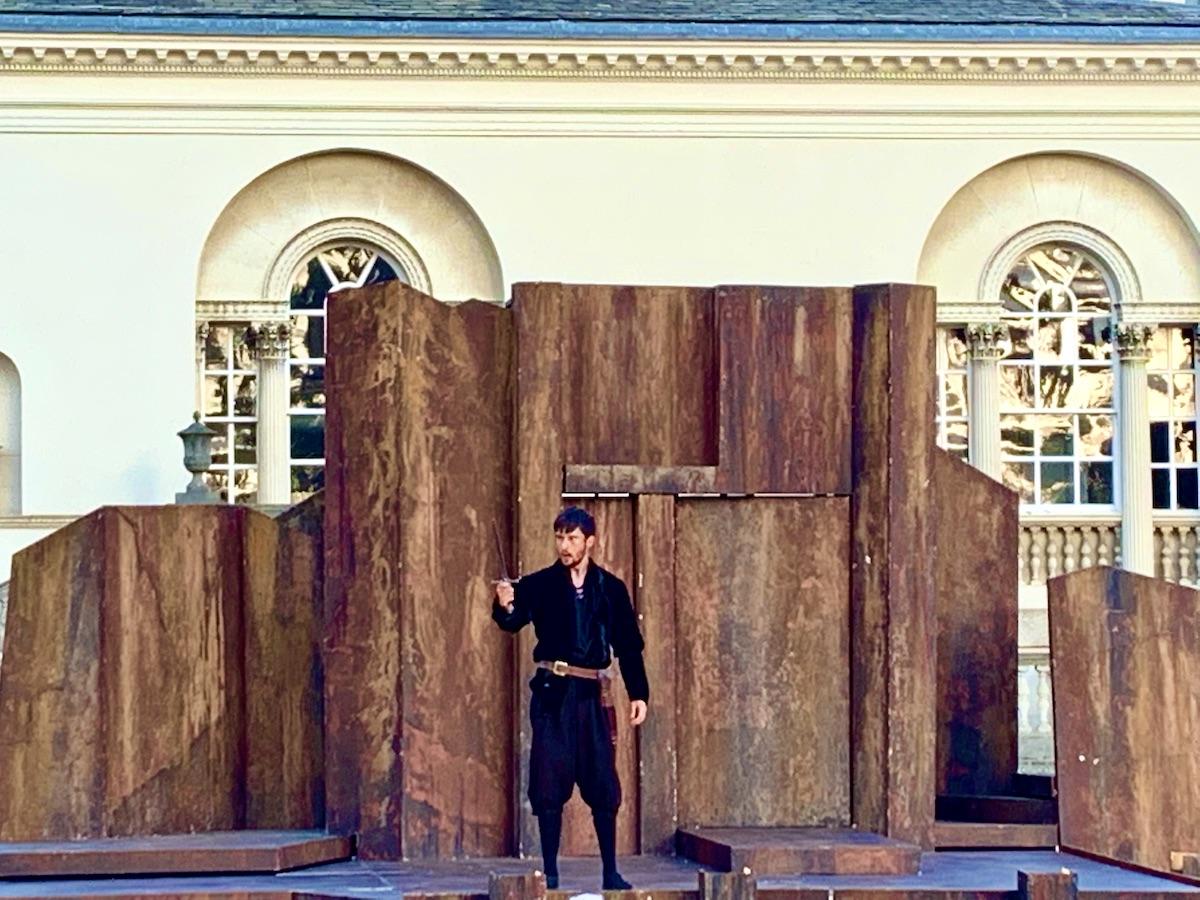 Ronnie Yorke as Macbeth.TLCM Macbeth 2021. Photographer Adrian York