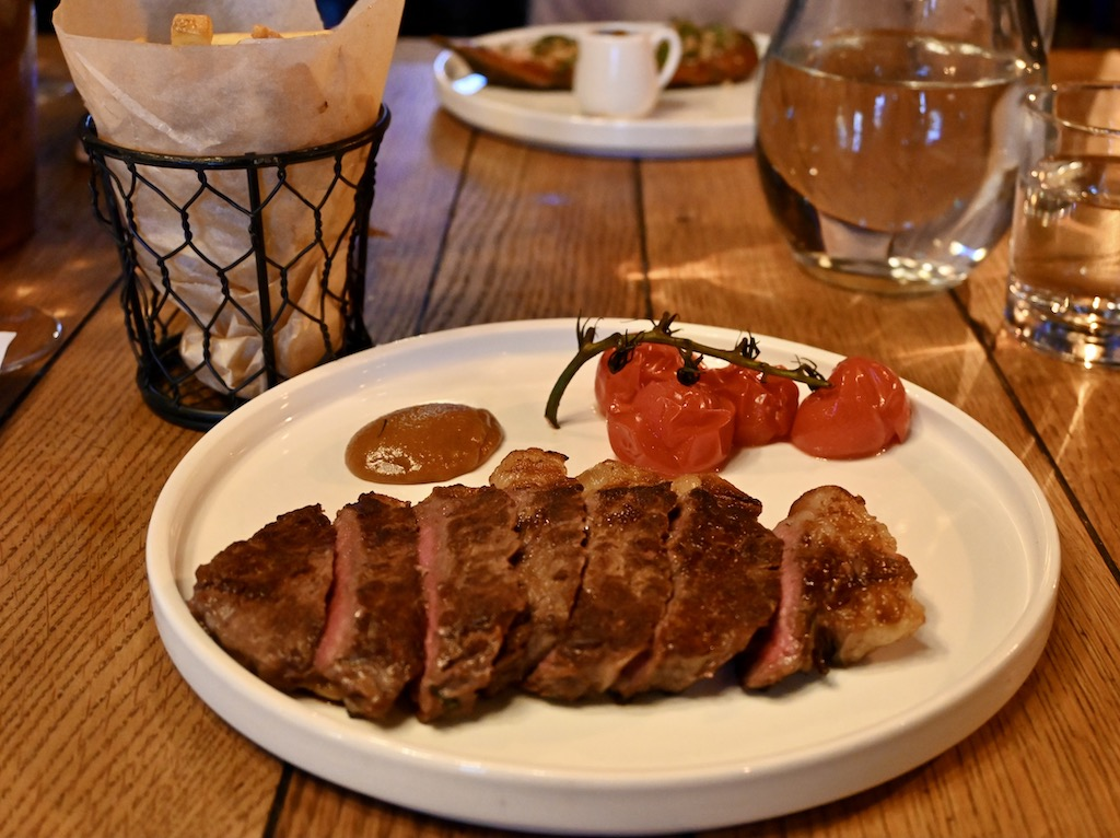 The Albion Rooms - Dry Aged sirloin