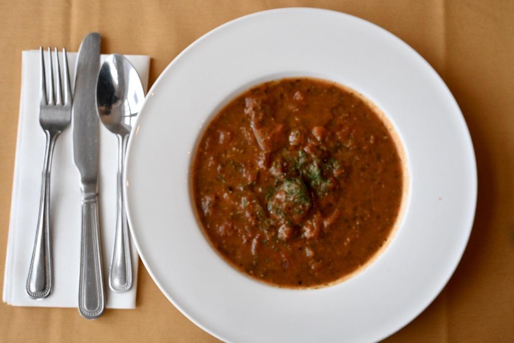 Tomato soup Bay Tree Hotel