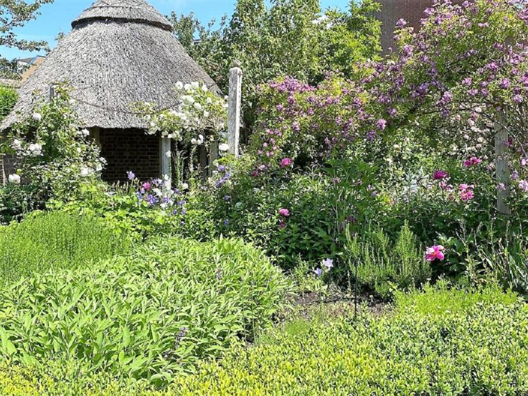 The garden at Lord Leycester Hospital Warwick
