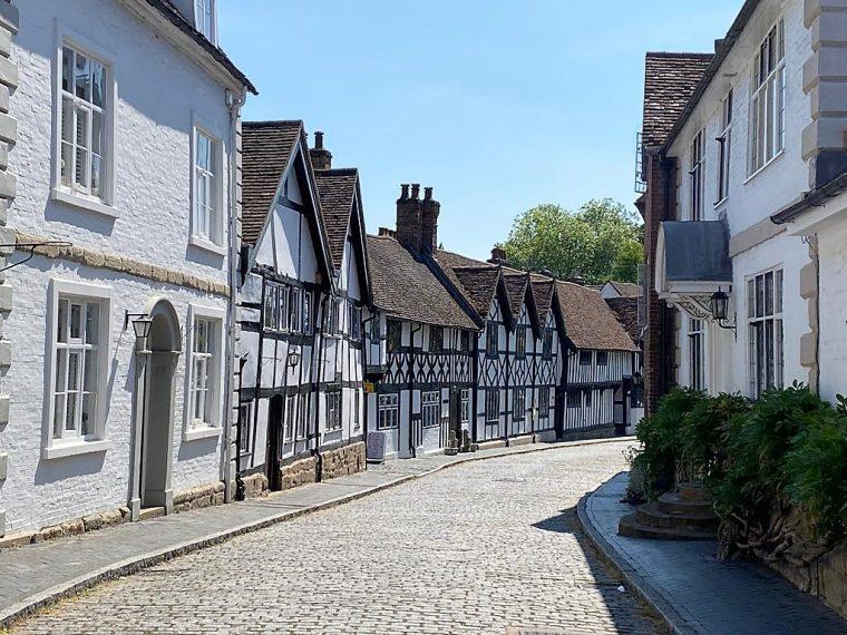 View of Mill Street Warwick