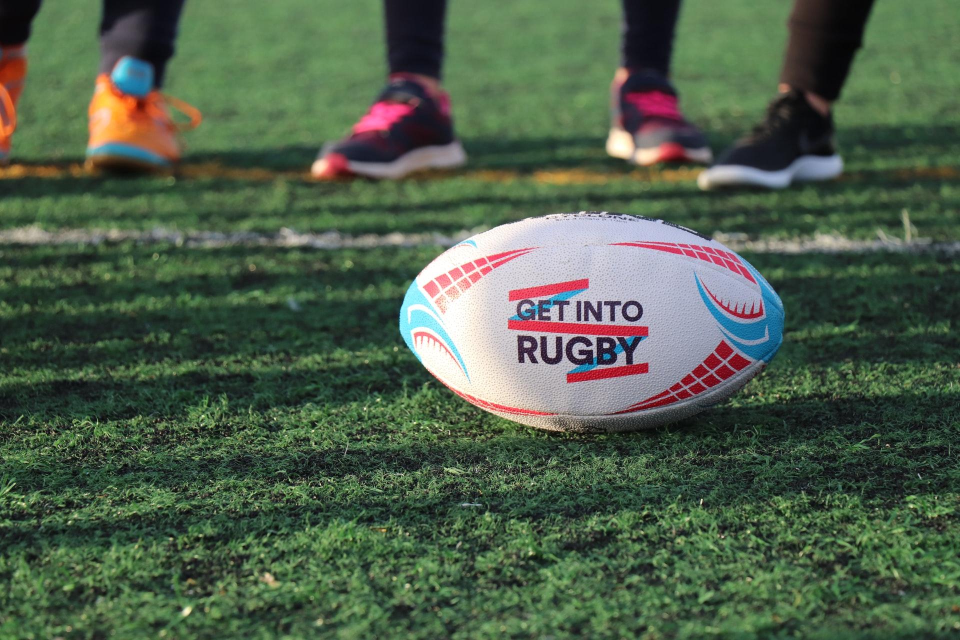 Rugby Ball by Edgar Pimenta