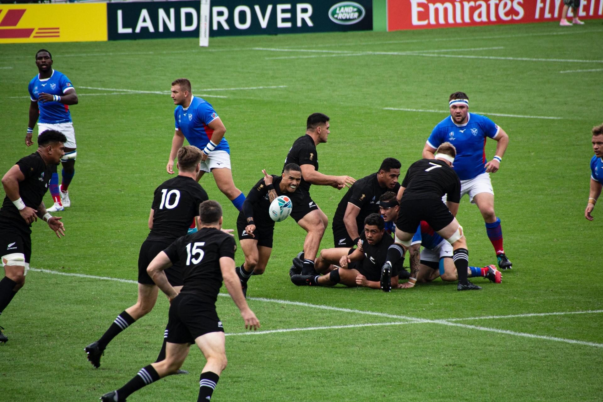 Rugby by Stefan Lehner