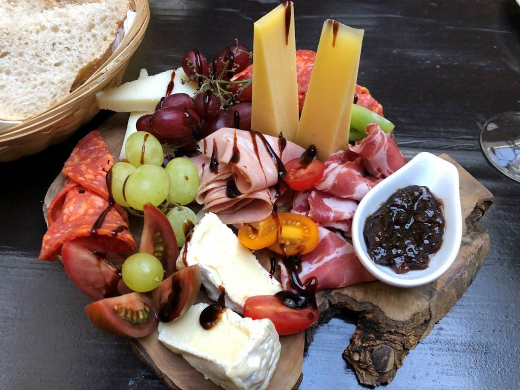 Amelie's Wine House sharing platter