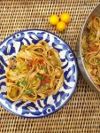 An A-Z of Pasta tagliatelle with puttanesca sauce