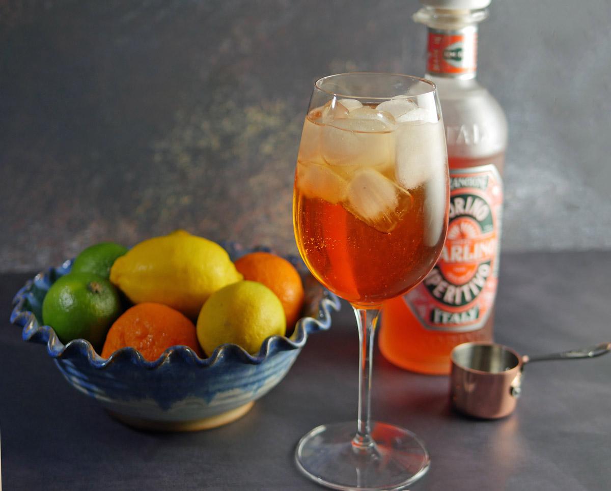Arancione-Spritz-Cocktail