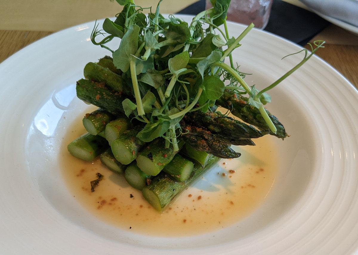 Asparagus with Miso at Nobu Park Lane