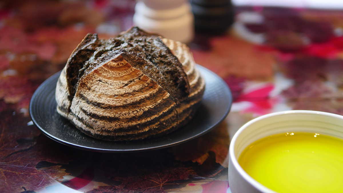 Bread and Olive Oil - Magenta