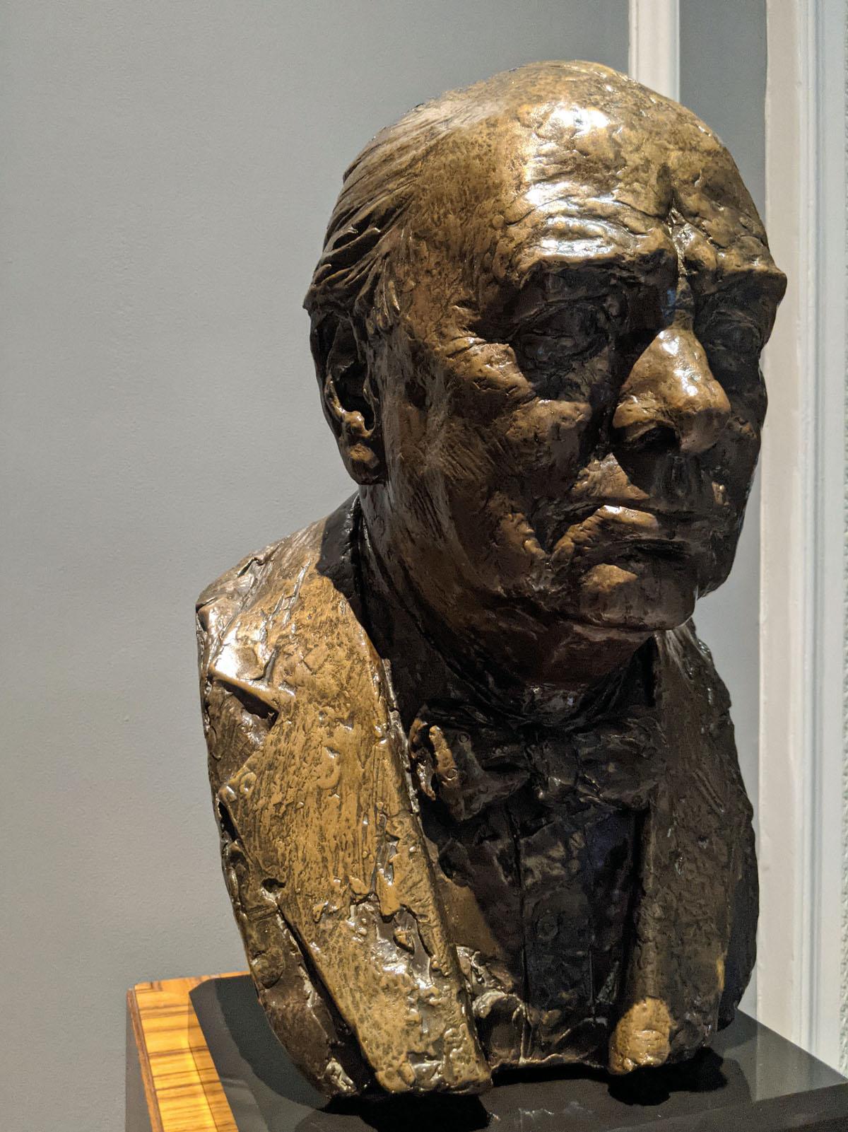 Bust of Churchill - Hyatt Regency