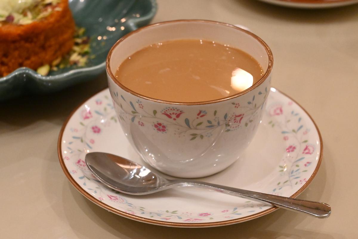 Copper Chimney masala tea