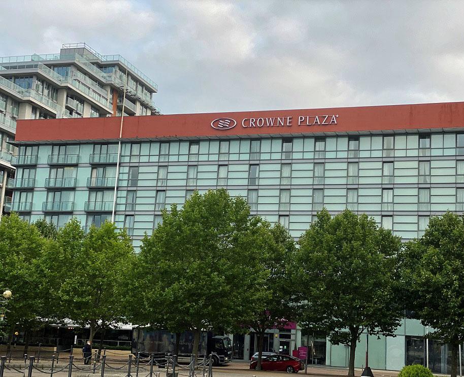 Crowne Plaza Royal Victoria Docks Exterior