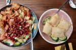 Massis Fattoush Salad and sambousek