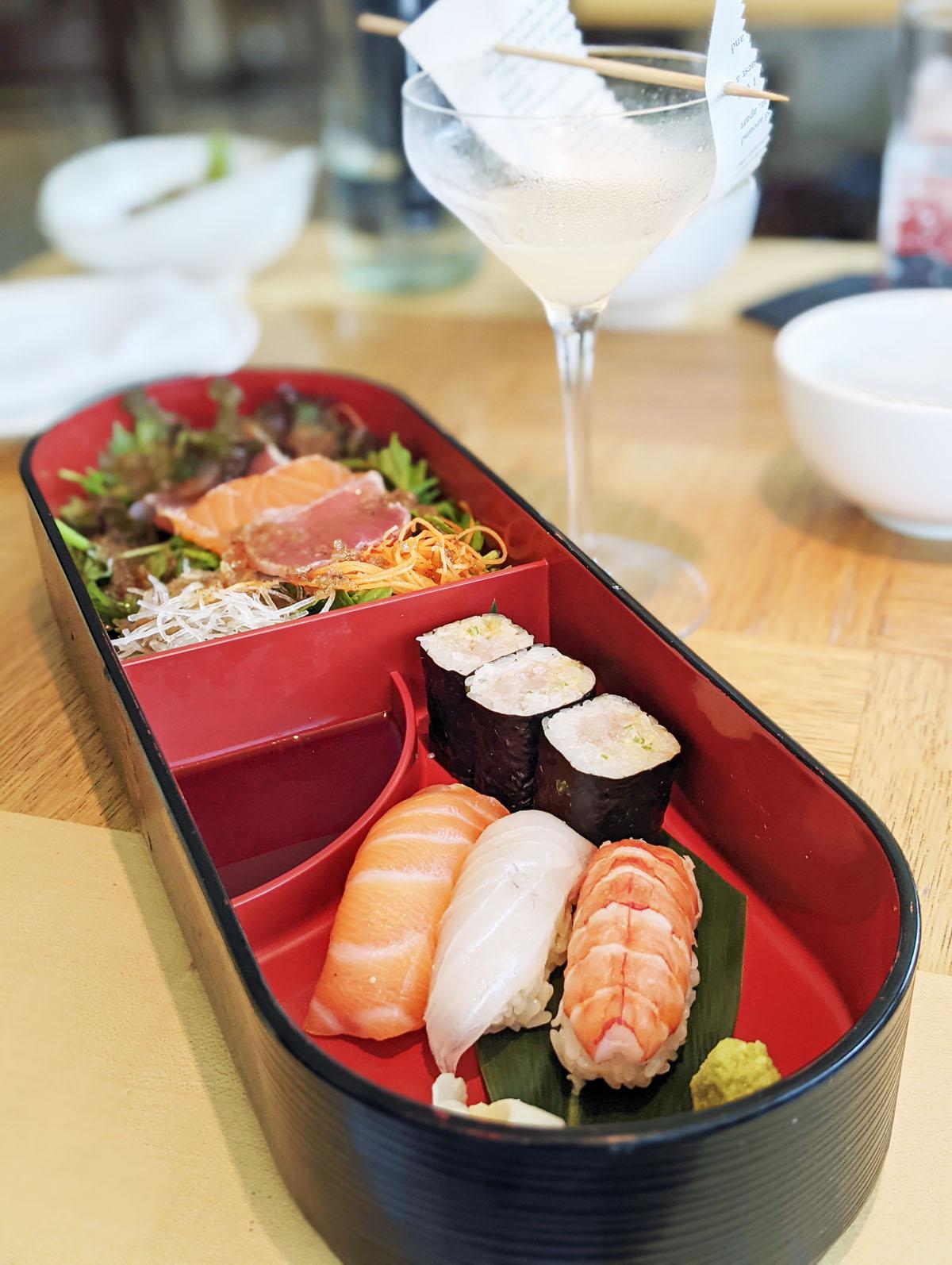 Nobu Park Lane Sushi Box